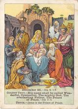 sub000157 - Lesson Picture Cards, The Prince of Peace, trade card