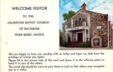 sub000165 - Welcome Visitor to the Arlington Baptist Church