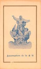 sub000167 - Priere Pour Honorer, L'Assomption De La S. V., Tradecard