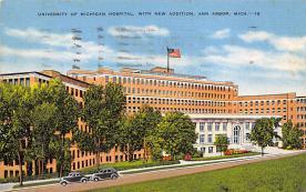 sub000667 - University of Michigan Hospital, with New Addition