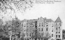 sub000687 - Partial View Main Building Mendocino State Hospital