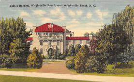 sub000697 - Babies Hospital, Wrigthsville Sound, near Wrightsville Beach, N. C., USA