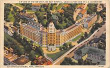 sub000739 - Air View of the New Army and Navy Hospital, Under Supervision of U. S. Government