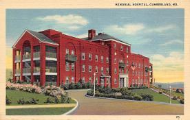 sub000829 - Memorial Hospital, Cumberland, MD, USA