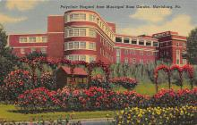 sub000831 - Polyclinic Hospital from Municipal Rose Garden