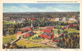 sub000833 - Aeroplane View, Johns Hopkins University