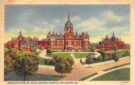 sub000853 - Bird's-Eye View of Johns Hopkins Hospital, Baltimore, MD, USA