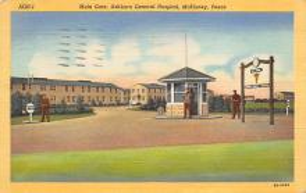 sub000887 - Main Gate, Ashburn General Hospital, McKinney, TX, USA