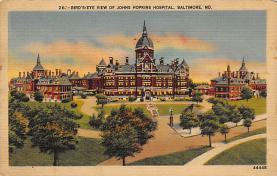sub000957 - Bird's-Eye View of Johns Hopkins Hospital, Baltimore, MD, USA