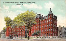 sub000975 - May Thompson Hospital, Adams and Paulina Streets, Chicago, IL, USA