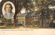 sub001081 - Harriet Beecher Stowe and Residence