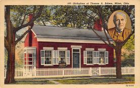 sub001127 - Birthplace of Thomas A. Edison, Milan, OH, USA