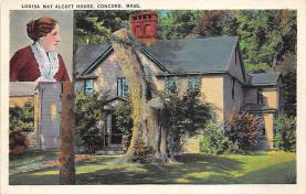 sub001139 - Louisa May Alcott House, Concord, MA, USA
