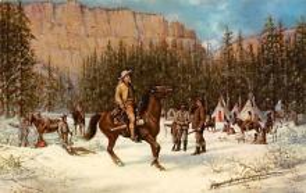 sub001287 - Buffalo Bill on Hunting Trip