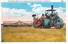 sub001419 - Harvesting Scene, San Joaquin County near Stockton, CA, USA
