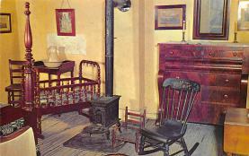 sub001453 - Aunt Polly's Room in Mark Twain Home, Hannibal, MO, USA