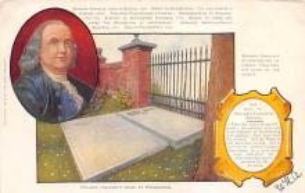 sub001499 - Benjamin Franklin's Grave at Philadelphia