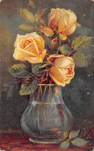sub013653 - Roses in a Vase Publisher Raphael Tuck & Sons Postcard