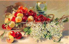 sub013667 - Fruit in a Basket  Postcard