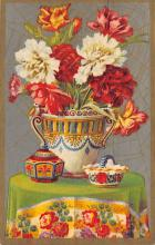 sub013673 - Flowers in a Vase  Postcard