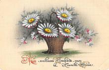 sub013679 - Flowers in a Basket  Postcard