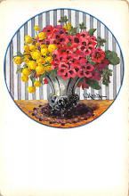 sub013695 - Flowers in a Vase  Postcard
