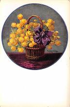 sub013697 - Flowers in a Vase  Postcard