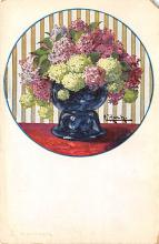 sub013731 - Flowers in a Vase  Postcard