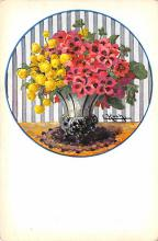 sub013733 - Flowers in a Vase  Postcard
