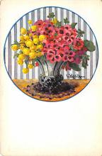 sub013741 - Flowers in a Vase  Postcard
