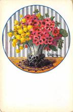 sub013743 - Flowers in a Vase  Postcard