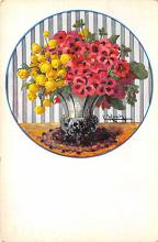 sub013745 - Flowers in a Vase  Postcard