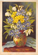 sub013799 - Flowers in a Vase  Postcard