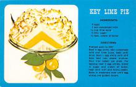 sub013843 - Key Lime Pie  Postcard