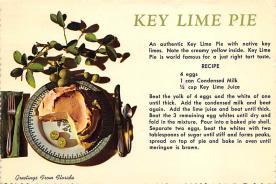sub013865 - Key Lime Pie  Postcard