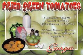 sub013867 - Fried Green Tomatoes  Postcard