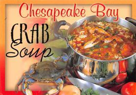 sub013871 - Chesapeake Bay Crab Soup Postcard