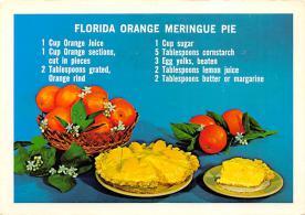 sub013873 - Florida Orange Meringue Pie  Postcard