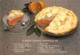 sub013875 - Florida Orange Meringue Pie  Postcard