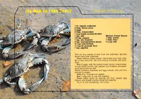 sub013893 - Del-Mar-Va Crab Cakes Postcard