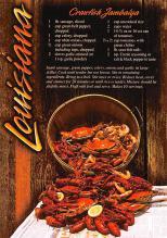 sub013903 - Louisiana  Crawfish Jambalya Postcard