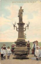 sub013909 - Statue with Children  Postcard