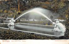 sub013919 - Club House Park, Tritons Saratoga, NY USA Postcard