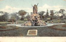 sub013927 - Fountain Washington Park Albany, N.Y., USA Postcard