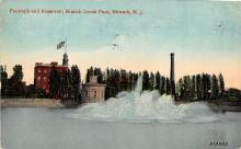 sub013933 - Fountain and Reservoir, Branch Brook Park Newark, N.J., USA Postcard