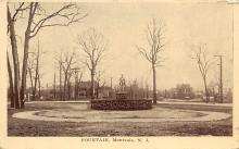 sub013935 - Fountain   Montvale, N.J., USA Postcard