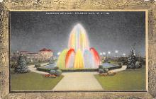 sub013939 - Fountain of Light Atlantic City, N.J., USA Postcard
