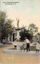 sub013941 - Hovey Memorial Fountain Portsmouth, N.H., USA Postcard