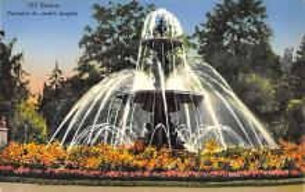 sub013947 - Fontaine du Jardin Anglais  Postcard