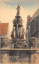 sub013955 - Fountain   Nurnberg, Tugendbrunnen Postcard